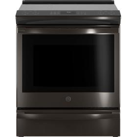 """GE Profile™ 30"""" Smart Slide-In Front-Control Induction and Convection Range with No Preheat Air Fry"""