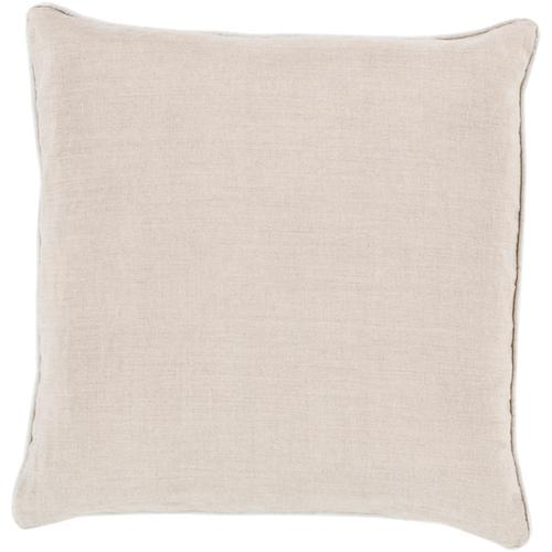 """Surya - Linen Piped LP-008 22""""H x 22""""W"""