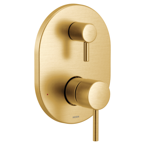 Align brushed gold m-core 3-series with integrated transfer valve trim