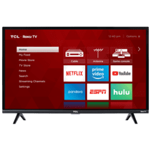 "TCL 32"" CLASS 3-SERIES HD LED ROKU SMART TV - 32S325"