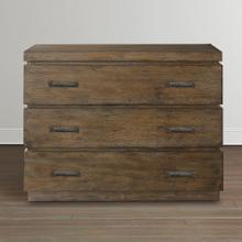 Western Brown Compass Bachelor's Chest