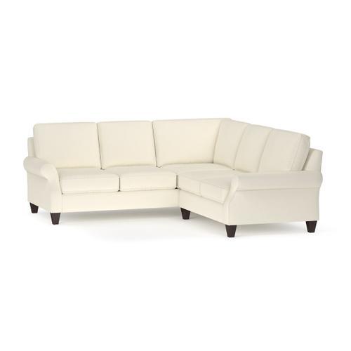 Bassett Furniture - Davenport L-Shaped Sectional