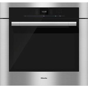 "MieleH 6580 BP 30"" Convection Oven w/ touch controls & MasterChef programs"