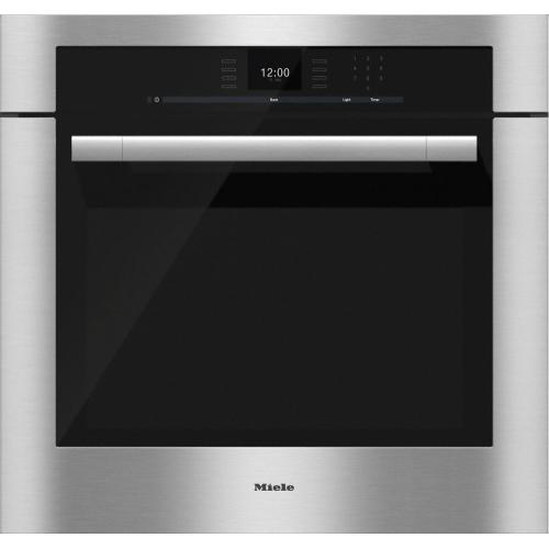 FLOOR MODEL CLEARANCE ITEM  H 6580 BP 30 Inch Convection Oven with touch controls and MasterChef programs for perfect results.
