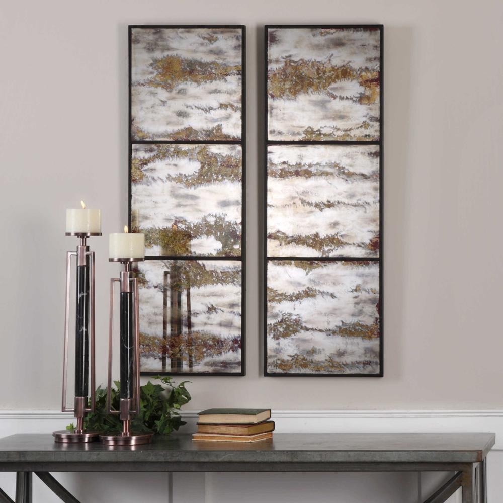 See Details - Rahila Mirrored Wall Panels, S/2