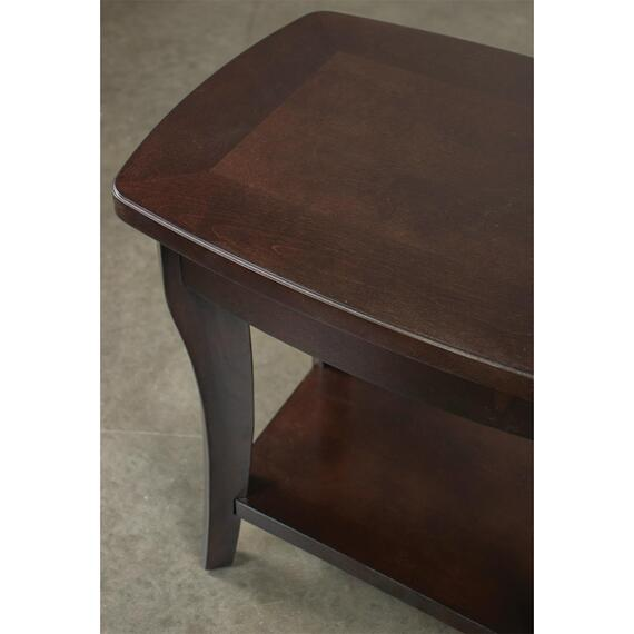Riverside - Annandale - Chairside Table - Dark Mahogany Finish
