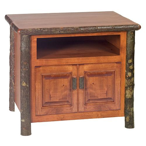 Television Stand - Natural Hickory
