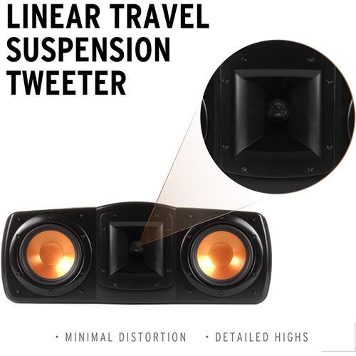 Klipsch - Synergy Black Label C-200 Center Channel Speaker  Klipsch