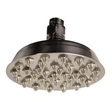 Showerhaus Small Sunflower Rainfall Showerhead with 37 nozzles - Solid Brass Construction with Adjustable Ball Joint - Brushed Nickel