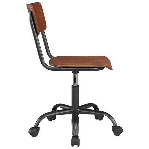 Kenneth KD Office Chair, Walnut