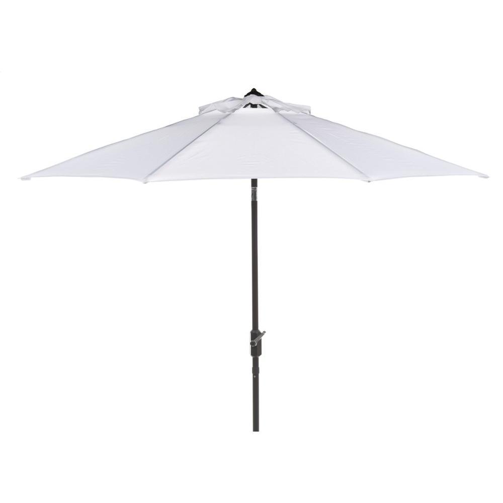 Uv Resistant Ortega 9 Ft Auto Tilt Crank Umbrella - White