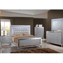 B-2000 King-3pcs (bed,dresser,mirror)
