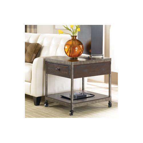 Hammary - Rectangular Drawer End Table