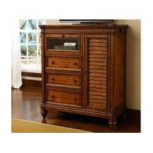 5 Drawer Chest W/ Media Cubby