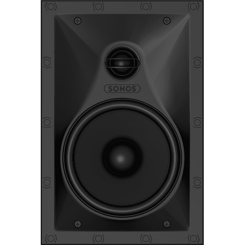 Black- In-Wall Speaker (Pair)