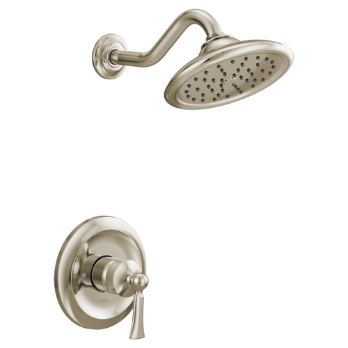 Wynford polished nickel m-core 3-series shower only