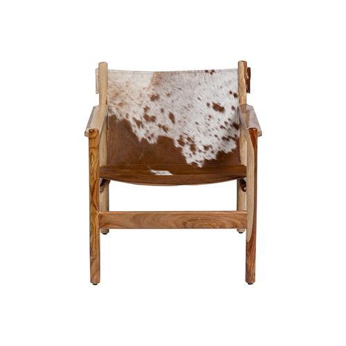 Porter International Designs - Genoa Cowhide Sling Chair, SLGC30