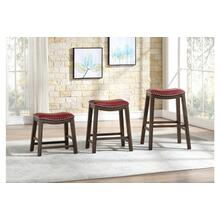24 Counter Height Stool, Red