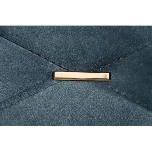 Divani Casa Chesterfield - Blue Velvet Sectional