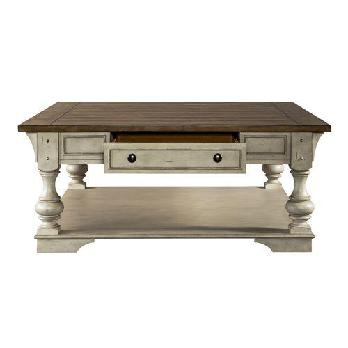 Liberty Furniture Industries - Drawer Square Cocktail Table