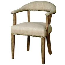 Bernadette Arm Chair, Rice