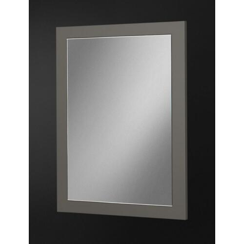 Nova Domus Lucia - Italian Modern Elm and Matte Grey Mirror