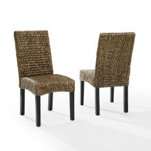 See Details - Edgewater 2pc Dining Chair Set