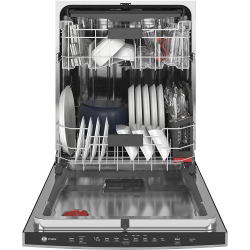 GE Profile™ Stainless Steel Interior Dishwasher with Hidden Controls Stainless Steel - PDP715SYNFS