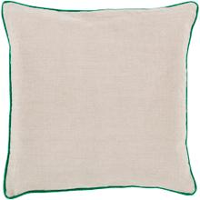 """View Product - Linen Piped LP-002 18""""H x 18""""W"""
