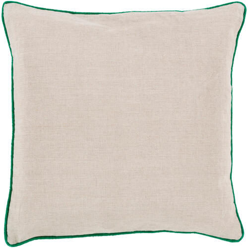 """Surya - Linen Piped LP-002 18""""H x 18""""W"""