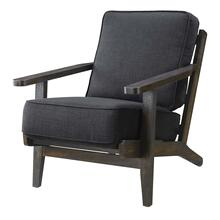 Metro Chair Onyx - Espresso Wood Finish (UPS Packing)