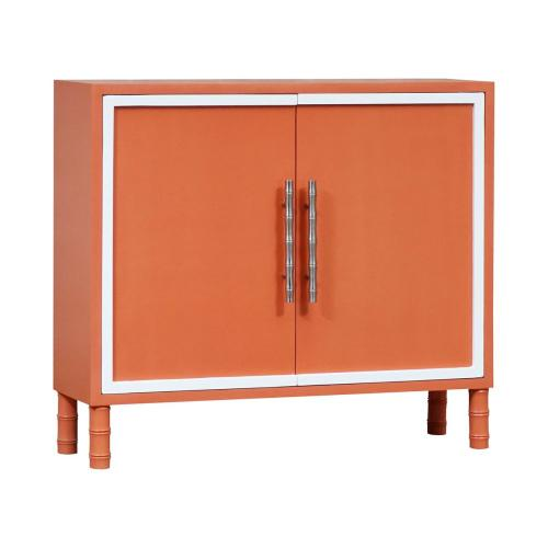 Ambrosia 2-door Cabinet In Coral