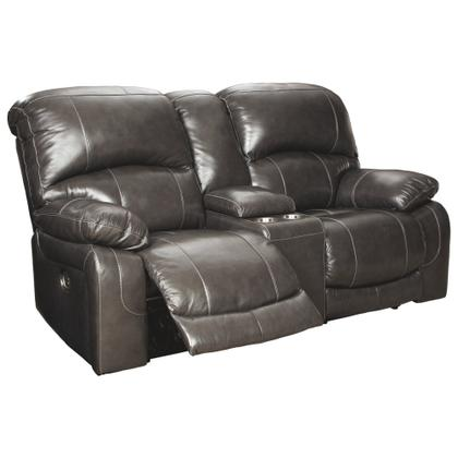 See Details - Hallstrung Power Reclining Loveseat With Console