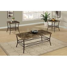 Zaharina 3pc Coffee Table Set