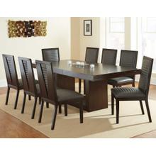 Antonio Gray 9 Piece Set(Table & 8 Side Chairs)
