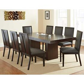 Antonio Gray 5 Piece Set(Table & 4 Side Chairs)