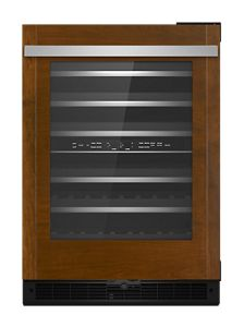 """Panel-Ready 24"""" Built-In Undercounter Wine Cellar - Right Swing"""