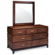 See Details - Frisco 7-Drawer Dresser, 60'w x 22'd x 33'h