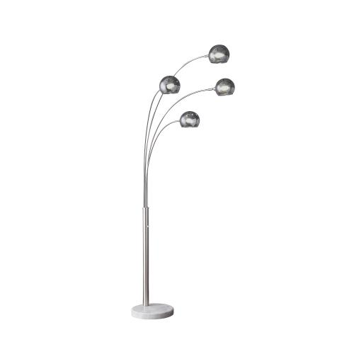 "Gallery - 86.5""H 4 Arm Arc Floor Lamp"