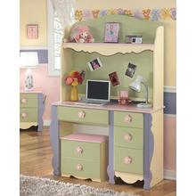 Doll House Bedroom Desk Hutch