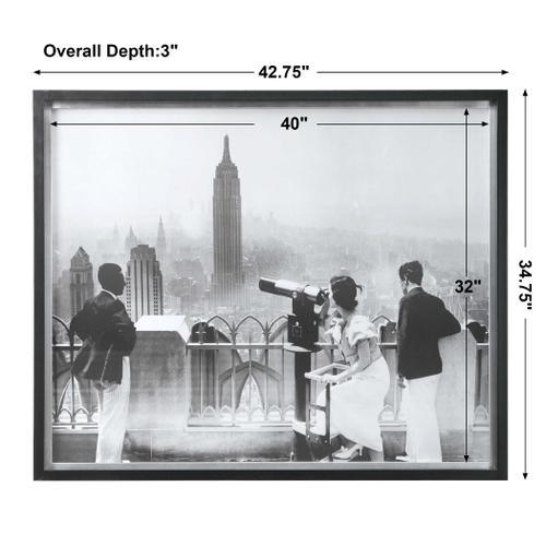 Manhattan View Framed Print