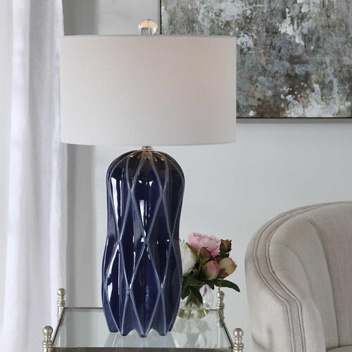 Malena Blue Table Lamp