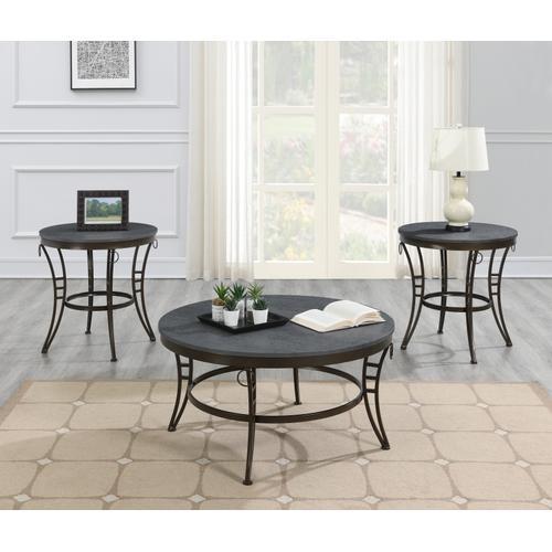 Emerald Home Furnishings - Round Coffee Table