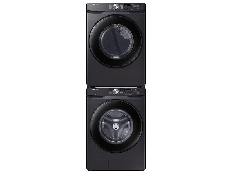 4.5 cu. ft. Front Load Washer with Vibration Reduction Technology+ in Black Stainless Steel Photo #4
