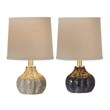 Crushed Mosaic Glass Accent Lamp. 40W Max. (2 pc. ppk.)