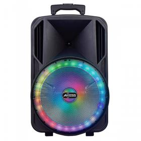 """15"""" Bluetooth® Party Speaker with Round Brilliant LED Lights - PABT6031"""
