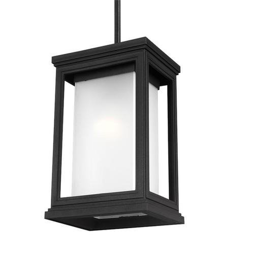 Roscoe 1 - Light Outdoor Pendant Textured Black