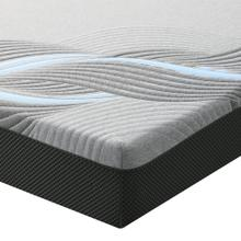 "Emerald Home Mattress Twilight II 8"" Gel-memory Foam Twin 3/3 Es5208tm-01"