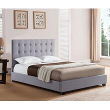 Stratford Platform Bed - Queen, Grey