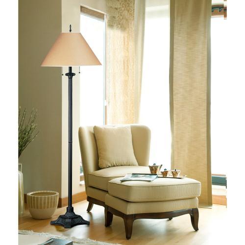 60W X 2 Pull Chain Floor Lamp